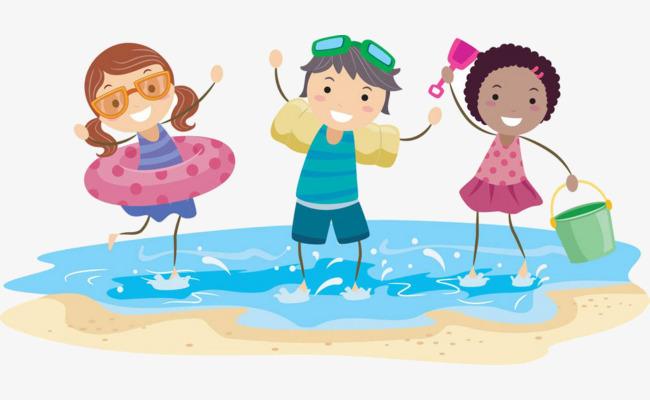 beach cartoon - Columbia Pediatrics Medical Group, Inc ...