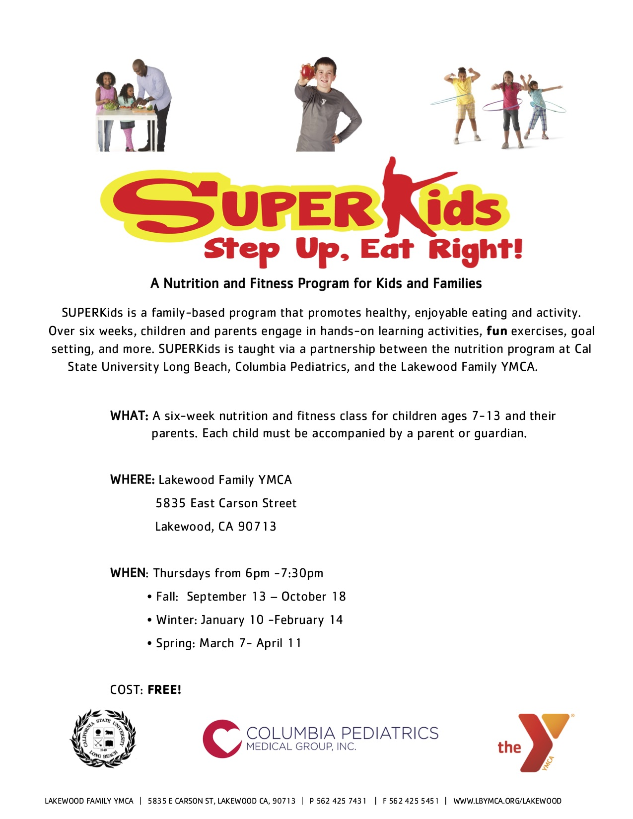 SUPER Kids is BACK!!! - Columbia Pediatrics Medical Group, Inc ...